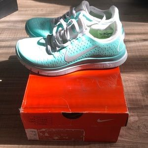 Nike Free Run 3.0 V4 Tiffany Blue Tropical Twist